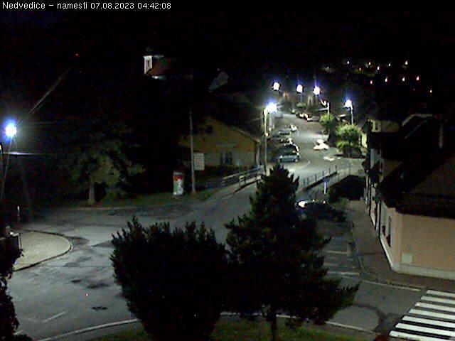 Webkamera - Pohled do obce Nedvědice